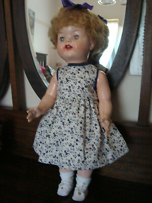 Vintage 21' Hard Plastic RODDY Made in England Doll