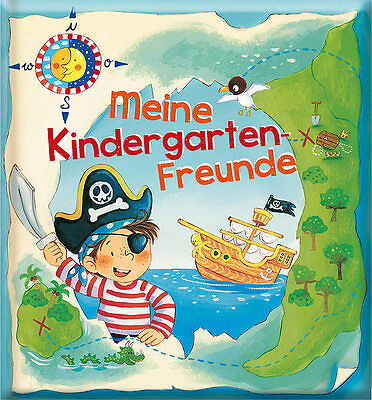 Freundebuch Piraten Meine Kindergarten Freunde Pirat arsEdition + BONUS