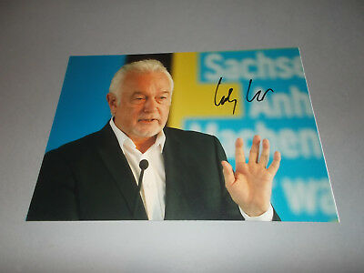 Wolfgang Kubicki  FDP   signed signiert  Autogramm auf 20x28 Foto in person