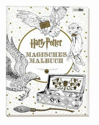 Harry Potter: Magisches Malbuch,