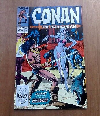 Conan The Barbarian #227 Marvel Comics Dec 1989 Were-Cats V/ Fine Cond Stan Lee