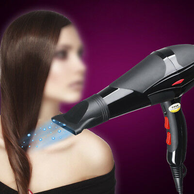 Electric Hair Dryer Blow 2300W Portable Travel Hairdressing Hot/Cool Wind MSYG