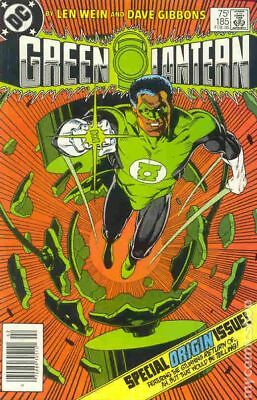 Green Lantern (1st Series DC) #185 1985 VF Stock Image