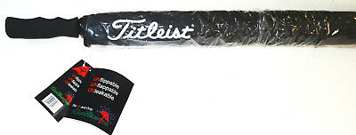 "Titleist Gustbuster Tour Twin Canopy 68"" Golf Umbrella Brand New"