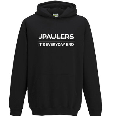 JPAULERS It's Everyday Bro Kids Jake Paul Hoodie Boys Girls Children's