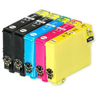 5 Ink Cartridges (Set+Bk) for Epson Expression Home XP-435 XP-442 XP-445 XP-452