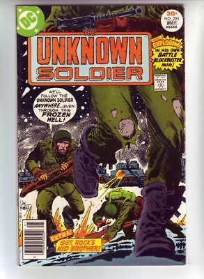 Unknown Soldier 205 strict VF/NM appearance Unknown Soldier in his own series