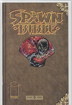 """SPAWN BIBLE """"Book of Souls"""" (deutsch) - GOLD-EDITION - INFINITY - LIM. 152 /1200"""