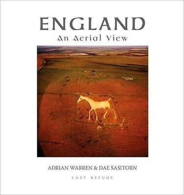 England: An Aerial View (Hardcover), Warren, Adrian, Sasitorn, Dae, 97809544350.