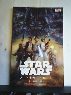 GRAPHIC NOVEL: STAR WARS - EPISODE IV: A NEW HOPE - Paperback 2016 1st print