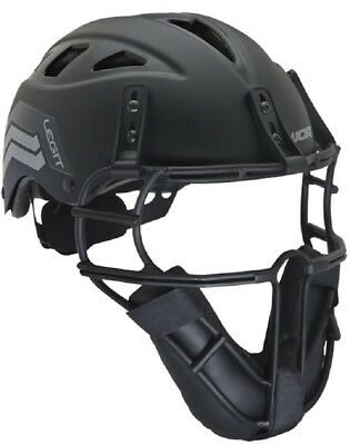 Worth LGTPH Legit Slowpitch Softball Adult Pitcher's Helmet with Face Guard New!