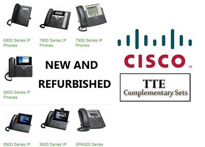 TTE Discounted Cisco Product Line for VoIP IP Business Phone Networks