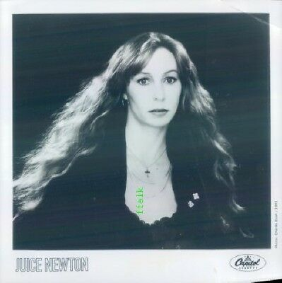 Press Photo: JUICE NEWTON 8x8 B&W 1981