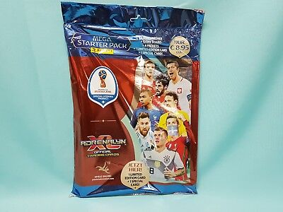 Panini Adrenalyn XL World Cup Russia 2018 Starterpack Sammelmappe WM Cards Neu