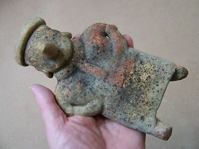Fine Authentic Circa 200 Bc - 300 Ad Nayarit Figurine From Western Mexico