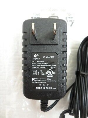 NEW  LOGITECH Harmony 1100 Remote Control POWER SUPPLY AC Adapter 534-000206 OEM
