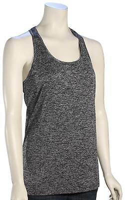 Under Armour Tech Twist Women's Tank - Black / Metallic Silver - New