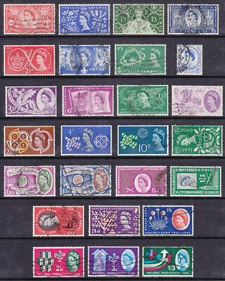 1953/62 Complete Commemorative Year Set ( 10 Sets ) Good/nice Used