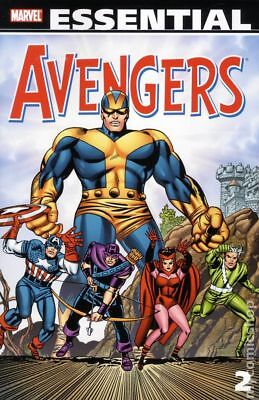 Essential Avengers TPB (2005- Marvel) 2nd Edition 2-1ST 2010 NM