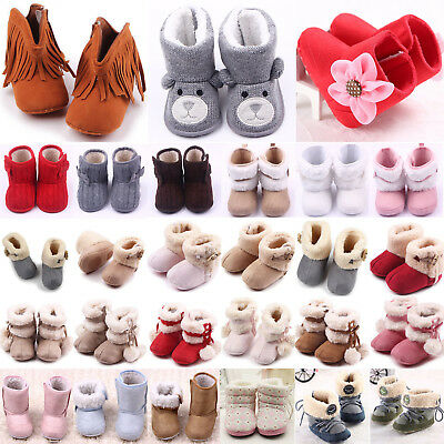 Newest Baby Boy Girl Anti-slip Socks Cartoon Newborn Slipper Shoes Boots 0-5Year