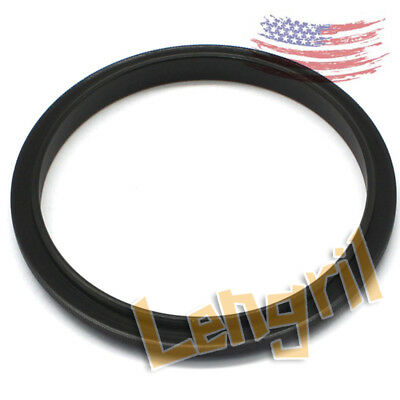 US 2pcs Stock Male 58mm to 62mm 58-62mm Macro Reverse Adapter Ring 58mm-62mm