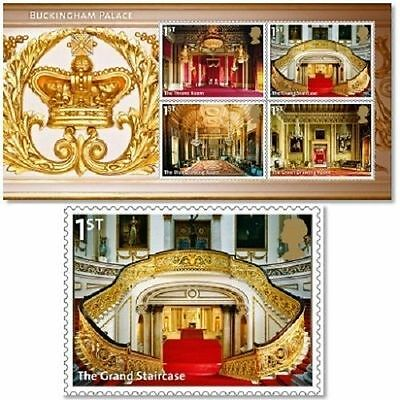 UK Buckingham Palace Miniature Sheet MNH 2014