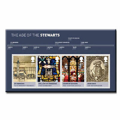 UK The House of Stewart Miniature Sheet MNH 2010