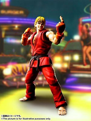 BANDAI S.H.Figuarts Ken Masters Action Figure (Completed) Street Fighter IV