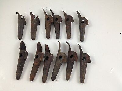 Lot of 12 Vintage Used Maple Sugar Tree Taps