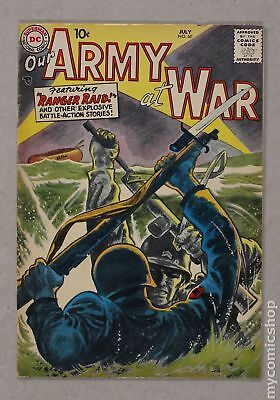 Our Army at War #60 1957 VG 4.0