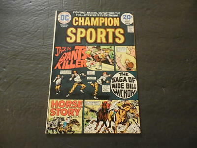 Champion Sports #3 Mar 1974 Bronze Age DC Comics    ID:27149