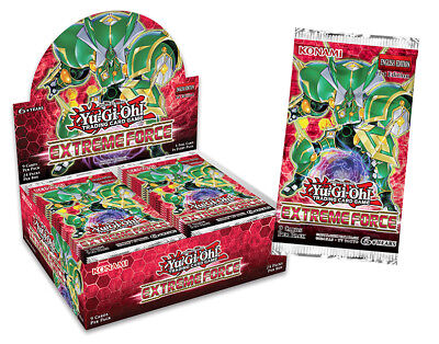 YuGiOh! Extreme Force Box x24 Booster Packs :: New & Sealed ::