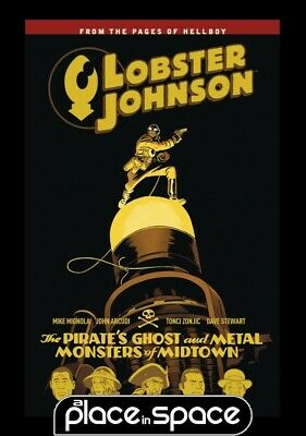 Lobster Johnson Vol 05 Pirates Ghost - Softcover