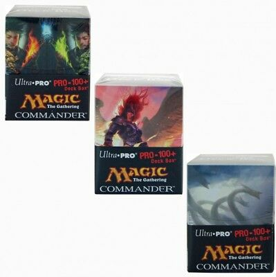 Ultra Pro Deckbox 100+ MTG Commander Deck Box für Magic the Gathering Decks EDH