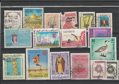 Iraq Iraq Middle East older Postage Stamps mix old Stamps mix Lot Am 5195