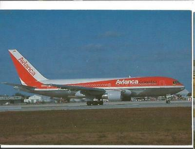 Cp Avion Boeing 767 259 Er Avianca Colombia N985An  Miami  1990