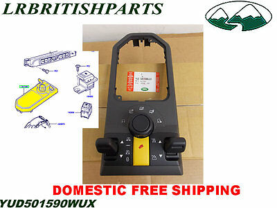 LAND ROVER 4x4 SWITCH CONSOLE PANEL CONTROL LR3 YUD501590WUX OEM