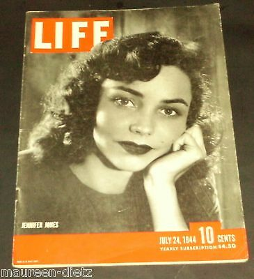 July 24, 1944 LIFE Magazine WWII 40s Advertising ads ad FREE SHIPPING 7 23 25 26