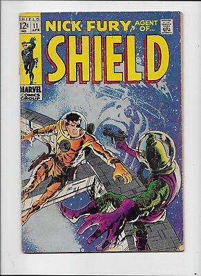 Marvel Comics   Nick Fury Agent Of Shield #11     Very Good