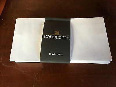 Conqueror White DL Self Seal Envelopes x 50