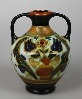 Arnhemsche Fayencefabriek art pottery vase 1930's Holland