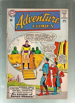 Adventure Comics #314  DC Comics 1963
