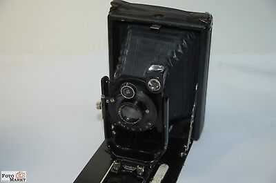 Contessa Nettel Taxo 64 Folding Camera Boxed (Matte Screen Made of Glass Fehlt )