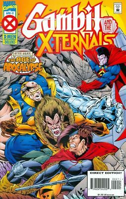 Gambit and the X-Ternals #2 1995 VF Stock Image