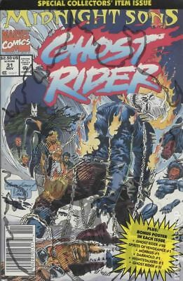 Ghost Rider (2nd Series) #31P 1992 NM Stock Image