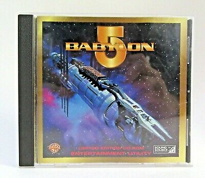 Babylon 5 Limited Edition Entertainment CD-Rom Sound Effects