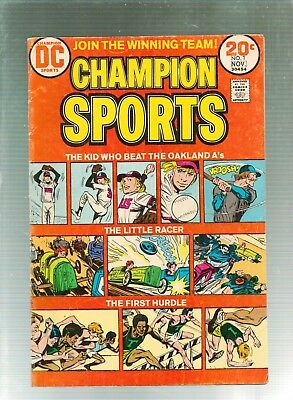 Champion Sports #1   DC Comics 1973