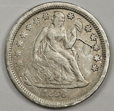 1856 Liberty Seated Dime.  X.F. Detail.  119436