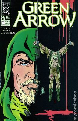 Green Arrow (1st Series) #33 1990 VF Stock Image
