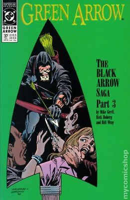 Green Arrow (1st Series) #37 1990 VF Stock Image